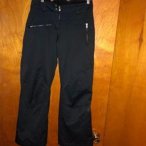 Obermeyer Womens Sz 2 Small Black Snow Ski Pants